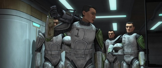 star wars the clone wars s3e1 clone cadets domino squad hevy