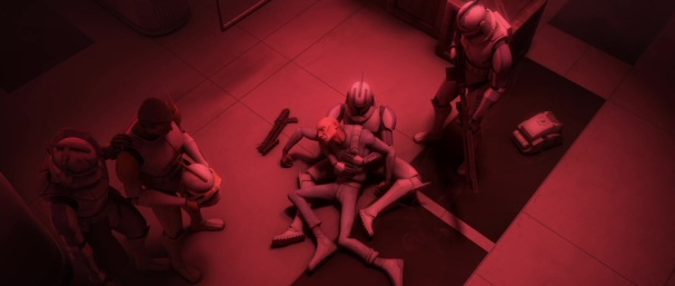 star wars the clone wars s3e2 ARC Troopers fives echo rex cody 99