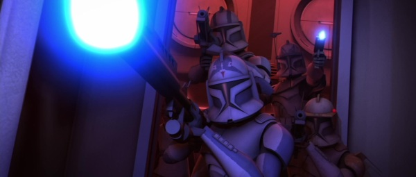 star wars the clone wars s3e2 ARC Troopers fives echo rex cody