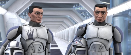 star wars the clone wars s3e2 ARC Troopers fives echo