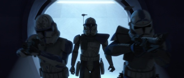 star wars the clone wars s4e10 carnage of krell fives jesse rex