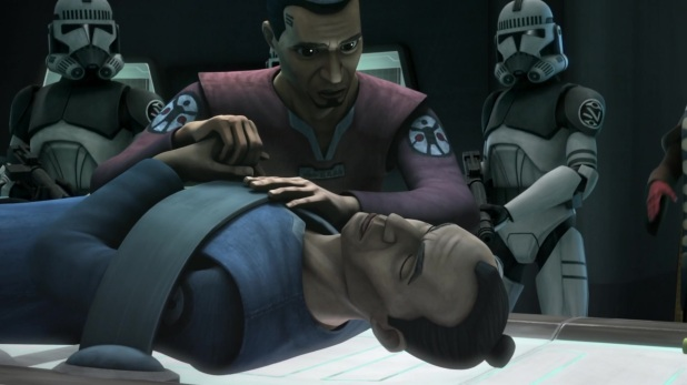 star wars the clone wars s6e2 conspiracy fives tup