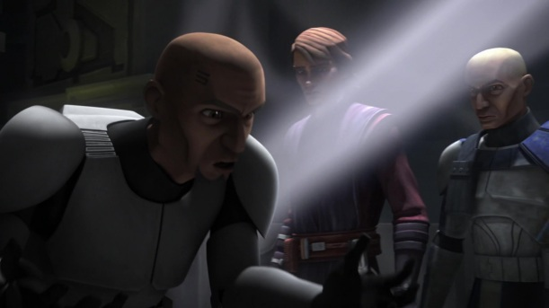 star wars the clone wars s6e4 orders anakin skywalker rex fives