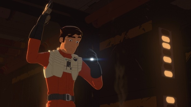star wars resistance s1e7 signal from sector six poe dameron