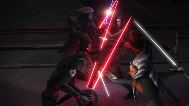 star wars rebels s2e22 twilight of the apprentice eighth brother fifth brother seventh sister ahsoka maul kanan