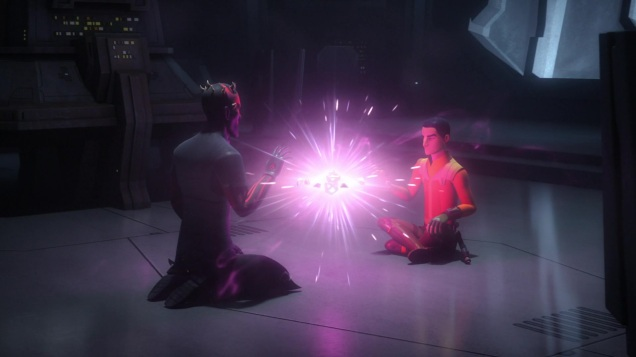 star wars rebels s3e3 holocrons of fate maul ezra