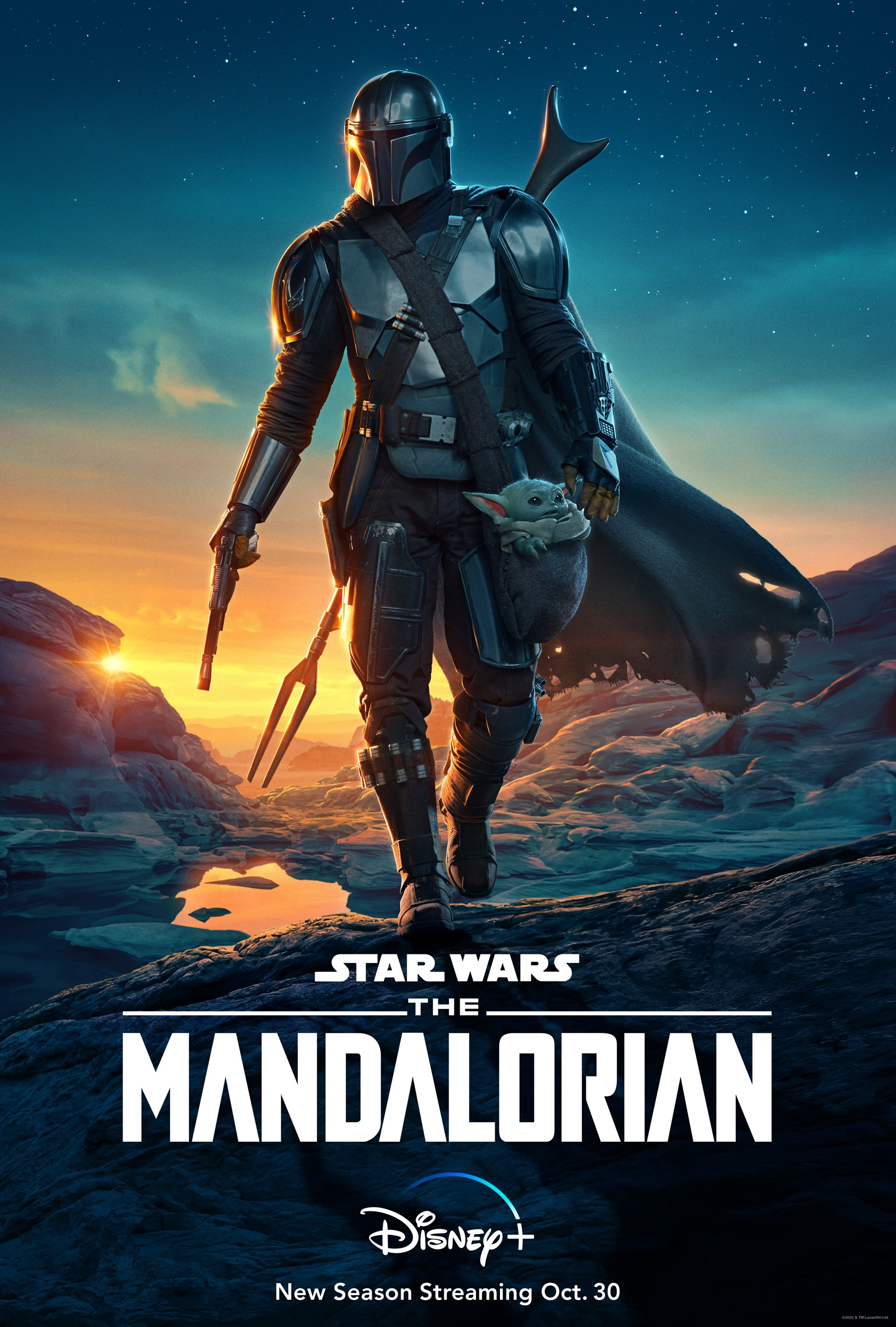 feat series the mandalorian season 2 poster