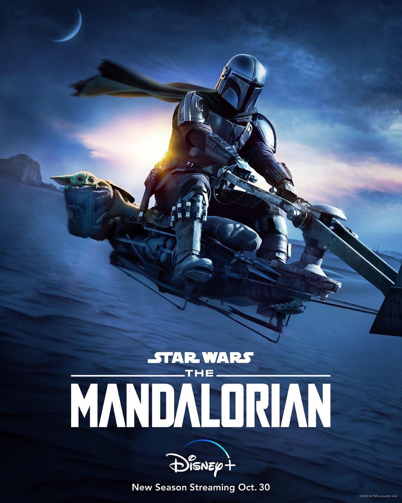 feat series the mandalorian season 2 poster 2