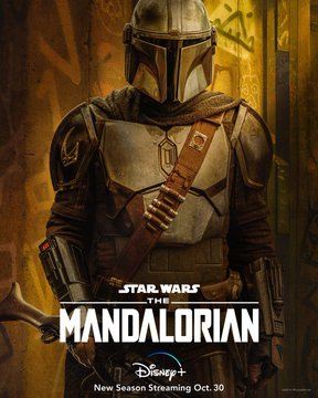 feat series the mandalorian season 2 poster din djarin