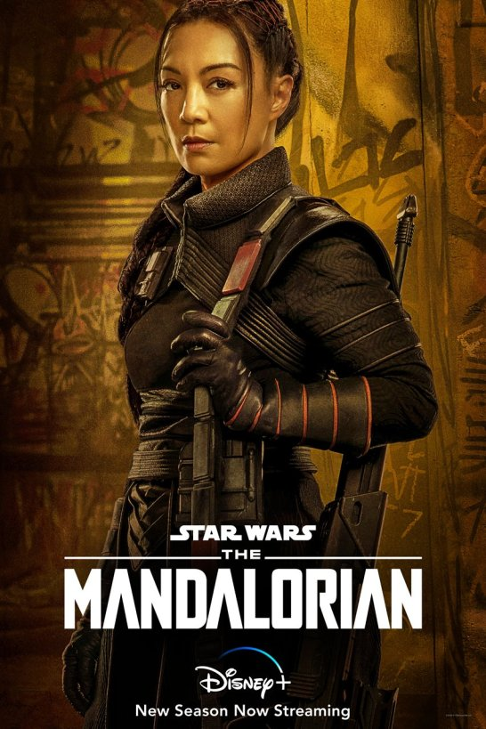 star wars series the mandalorian season 2 poster fennec shand