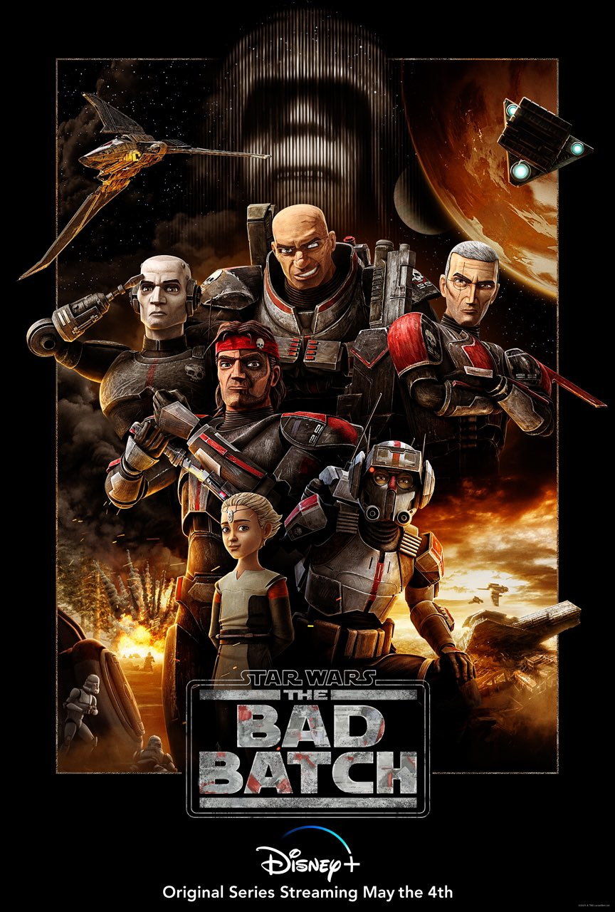 star wars series the bad batch poster