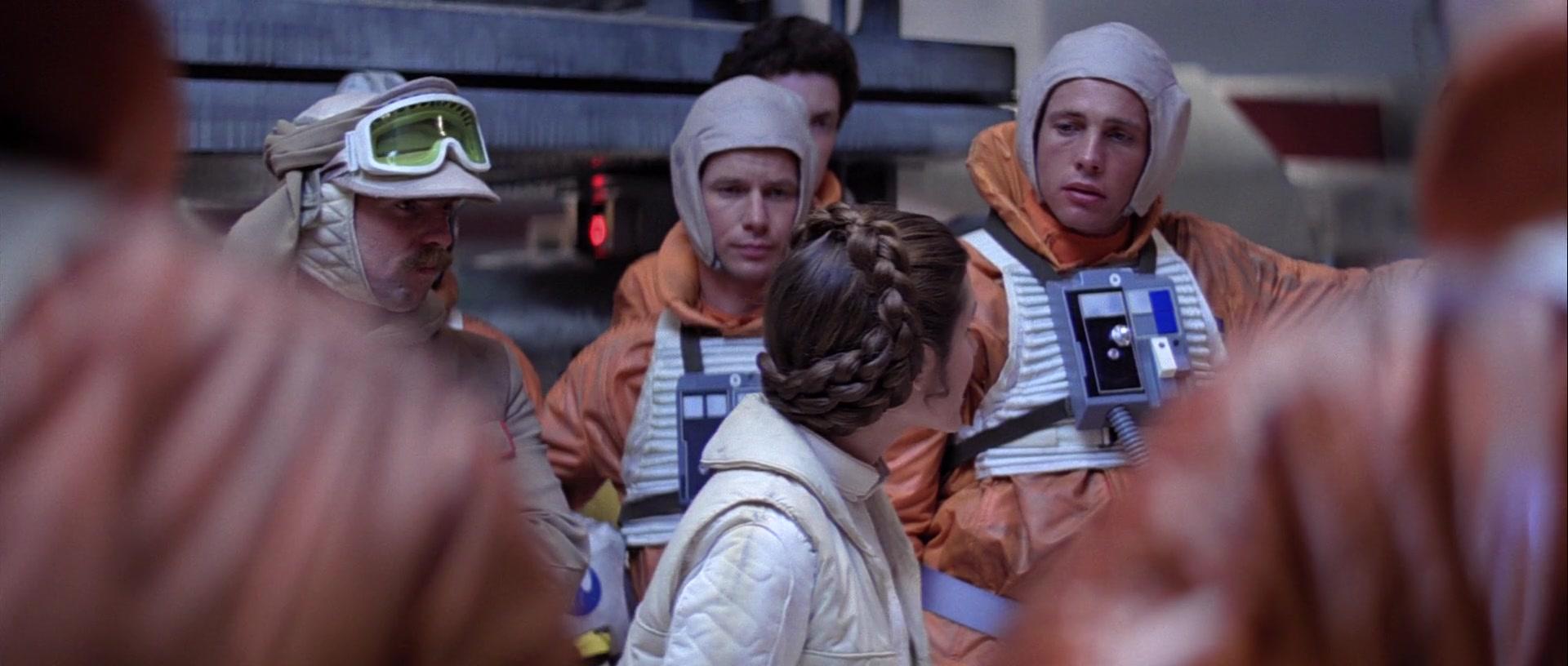 star wars the empire strikes back battle of hoth bren derlin leia organa derek hobbie klivian