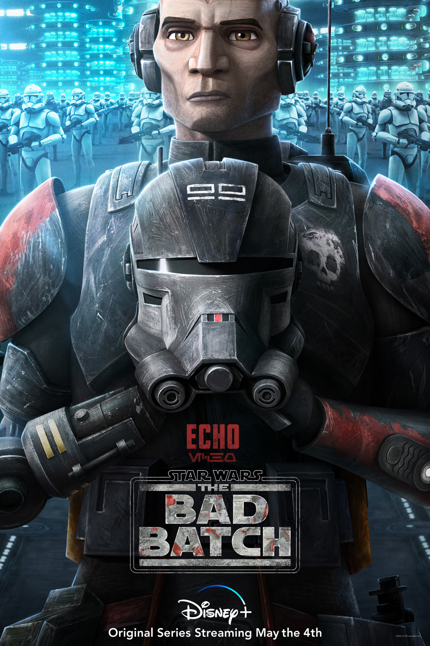 star wars series the bad batch poster echo
