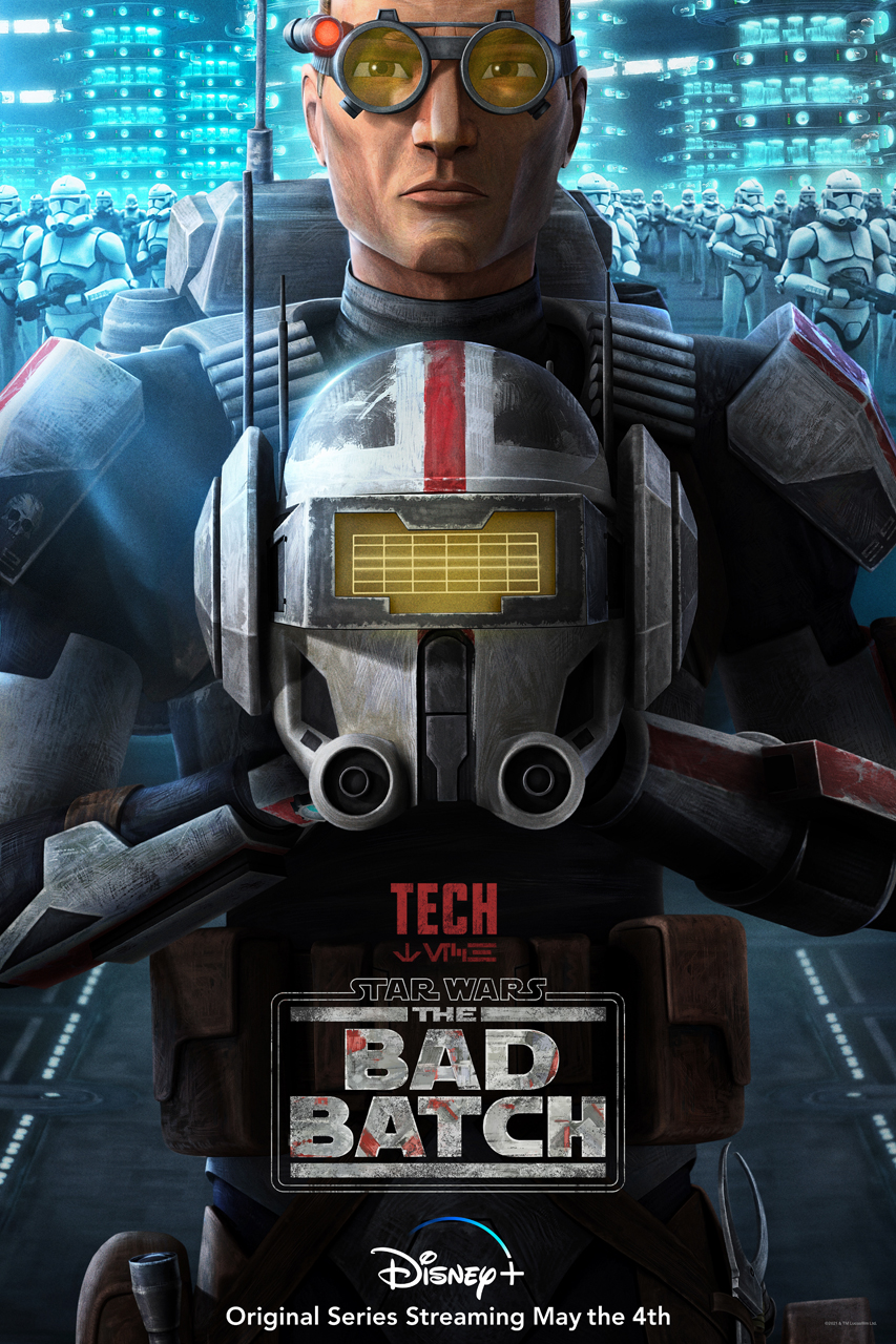 star wars series the bad batch poster tech