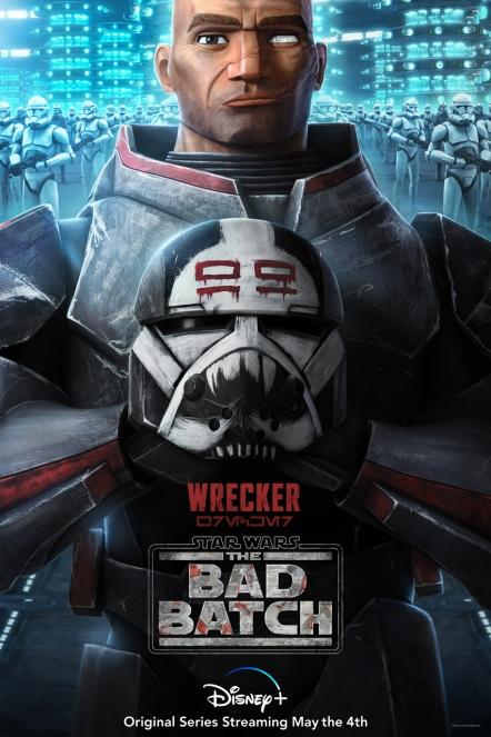 star wars series the bad batch poster wrecker
