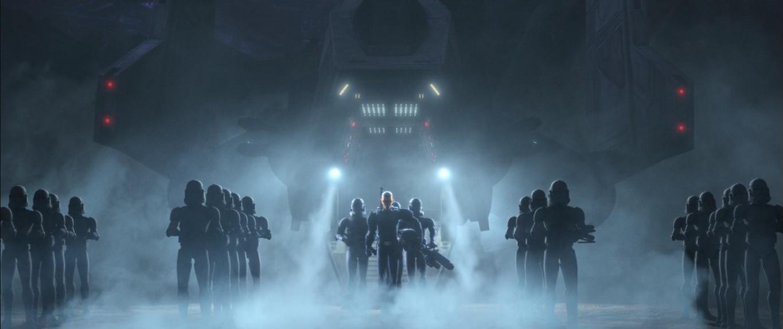 star wars series the bad batch s1e8 reunion crosshair clones