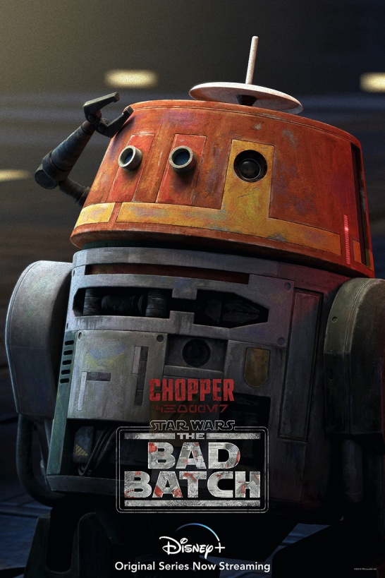 star wars series the bad batch poster choppe c1-10p
