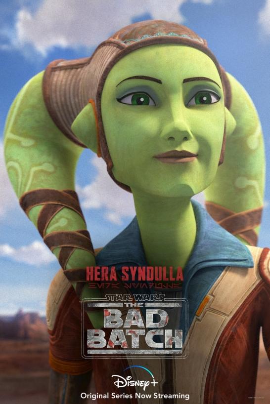 star wars series the bad batch poster hera syndulla