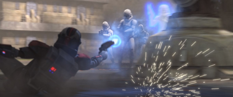 star wars series the bad batch s1e10 common ground hunter stuns regs