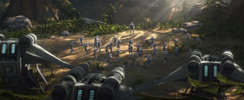 star wars series the bad batch s1e14 war-mantle hunter