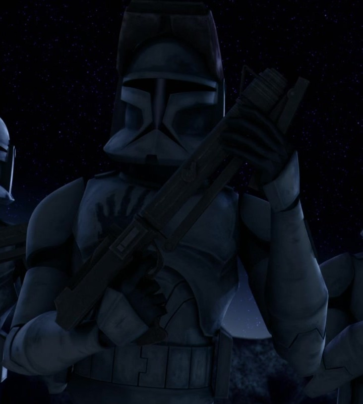 star wars series the clone wars s1e5 rookies echo fives hevy