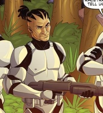 star wars comic Star Wars Adventures The Clone Wars Battle Tales 4 charlie